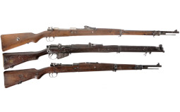 Three Military Style Bolt Action Rifles