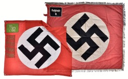 Two Nazi-Style Banners