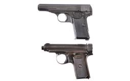 Two European Semi-Automatic Pistols