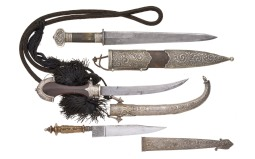 Three Assorted Edged Weapons