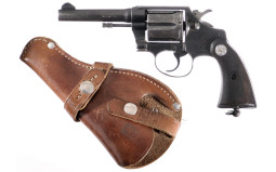 Colt Police Positive Special Double Action Revolver with Holster