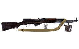Russian SKS Model Semi-Automatic Rifle with Sling and Oiler