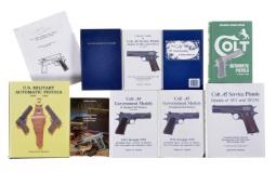 Group of Nine Books on Handguns