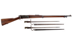 U.S. Springfield Model 1898 Krag Bolt Action Rifle