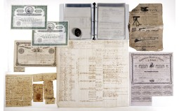 Grouping of US Documents, Letters and Various Documents
