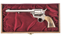 Colt Second Generation Single Action Army Revolver with Case