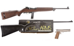 Two Semi-Automatic Long Guns and One Pistol