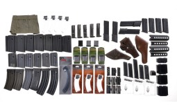Group of Assorted Firearm Magazines and Accessories