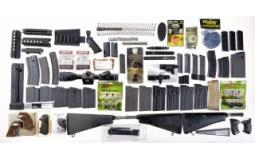 Large Assortment of Firearm Related Parts and Accessories