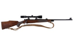 Winchester Model 70 Bolt Action Rifle with Scope