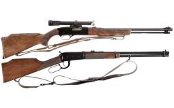 Two Winchester Long Guns