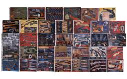 Fourteen Sets of Rock Island Auction Company Catalogs
