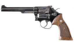 Smith & Wesson Model K22 Double Action Revolver