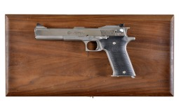 AMT Automag II Semi-Automatic Pistol with Wood Case