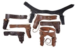 Seven Leather Style Belt Holsters