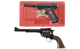 Two Ruger Handguns