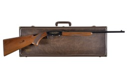 Engraved Belgian Browning .22 Caliber Semi-Automatic Rifle