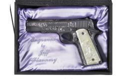 Engraved Colt Model 1991A1 Series 80 Semi-Automatic Pistol