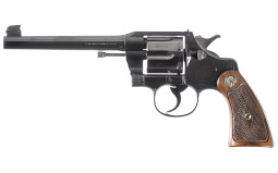 Colt Officers Model Double Action Revolver