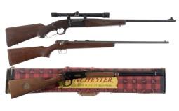 Three Sporting Long Guns