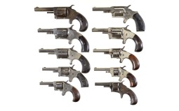 Ten Spur Trigger Revolvers -A) Regulator Marked Revolver