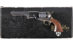 Colt Dragoon Black Powder Series Percussion Revolver With Box