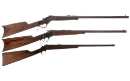 Three Single Shot Rifles