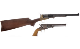 Two Reproduction Revolving Firearms