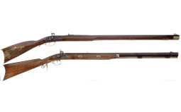 Two Contemporary Percussion Rifles