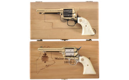 Two Cased Colt Commemorative Single Action Revolvers