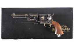 Engraved Colt Black Powder Series Garibaldi Special Edition