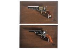 Two Cased Colt Blackpowder Percussion Revolvers