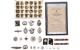 Group of Assorted Nazi-Style Memorabilia