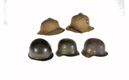 Five Assorted Pieces of German Headgear