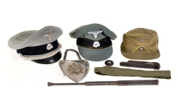 Group of Nazi-Style Memorabilia