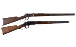 Two Winchester Lever Action Long Guns