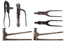 Four Winchester Reloading Tools and Two Bullet Molds