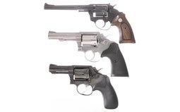 Three Double-Action Revolvers