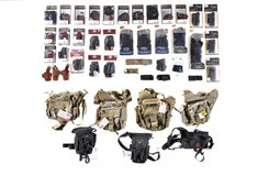 Group of Assorted Holsters and Tactical Bags