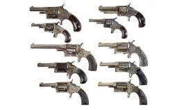 Ten Spur Trigger Revolvers -A) Wesson & Harrington Revolver