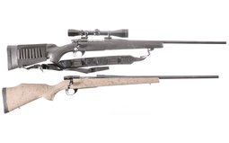 Two Weatherby Rifles