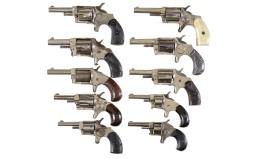 Ten Spur Trigger Revolvers -A) Liberty Marked Revolver