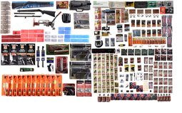 Assorted Firearm Accessories, Cleaning Kits, And Reloading Equip