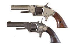 Two Spur Trigger Revolvers