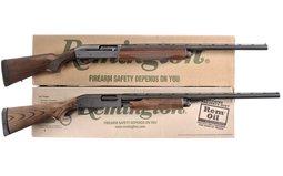 Two Remington Shotguns