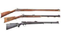 Three Percussion Long Guns