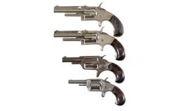 Four Spur Trigger Revolvers