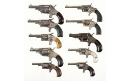 Ten Spur Trigger Revolvers