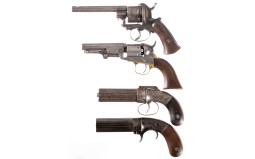 Four Hand Guns