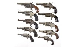 Ten Spur Trigger Revolvers -A) Bacon Arms Co. Conqueror Revolver
